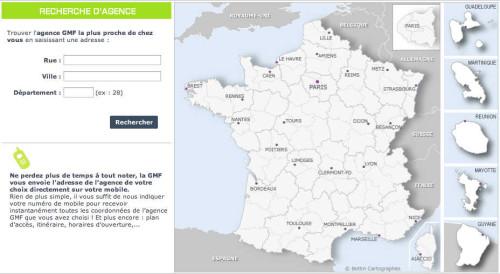 Contacter la GMF : téléphone et adresse - Recherche des agences