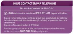 Contacts pour Résilisation Virgin Mobile - Service Client