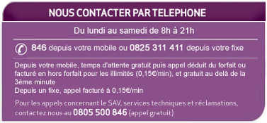 Contacts pour Résiliation Virgin Mobile - Service Client