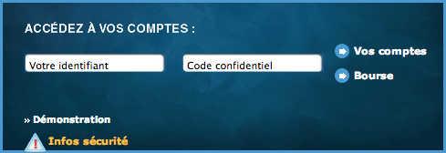 Banque Nuger Mon compte : accès et identification