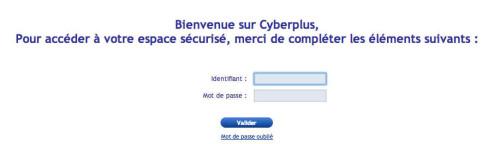 Banque Populaire Rives de Paris : connexion à mon compte cyberplus