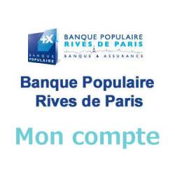 Mon compte Banque Populaire Rives de Paris - www.rivesparis.banquepopulaire.fr