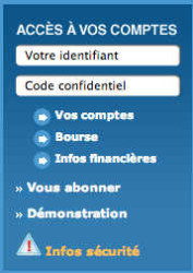 Banque Tarneaud Particuliers : identification mon compte