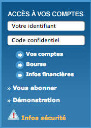 Banque Tarneaud Particulier : identification mon compte