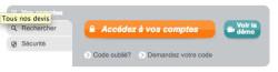 Crédit Agricole Centre Loire en ligne - Accès à mon compte