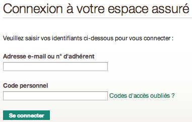 Mutuelle Génération - Accès à mon espace adhérent sur assure.generation.fr