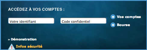 Banque Société Marseillaise de Crédit : mon compte - accès