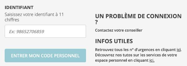 Accéder à mes comptes Crédit Agricole Finistère sur www.ca-finistere.fr