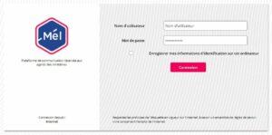 Accès à melanie2web.din.developpement-durable.gouv.fr