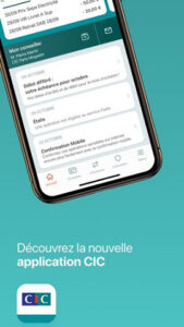 Application mobile CIC Filbanque sur iPhone, iPad et Android