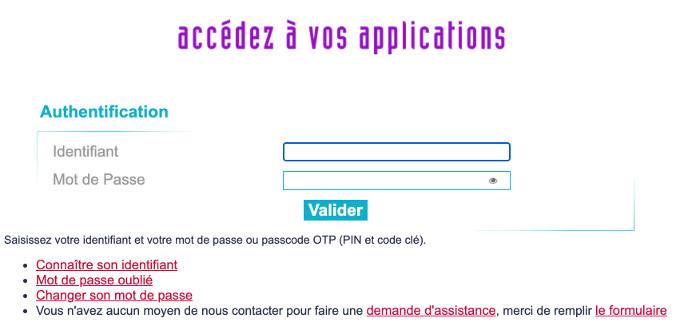 Applications du rectorat de Grenoble : webmail et autre