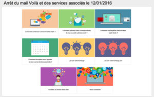 Arrêt du service de messagerie Voilà Mail - mail.voila.fr