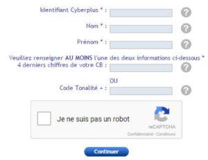 BP Loire Lyonnais : demande de nouveau mot de passe