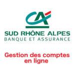 Crédit Agricole Sud Rhône Alpes Gestion de comptes en ligne sur www.ca-sudrhonealpes.fr