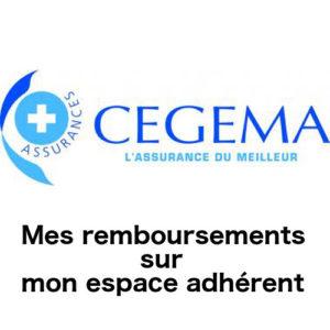 Cegema Assurance : espace adhérent sur www.cegema.com