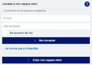 Creer et se connecter à son compte client EDF particuliers depuis son espaceclient.edf.com