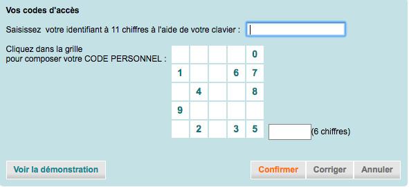 Connexion à mon compte CACF www.ca-centrefrance.fr