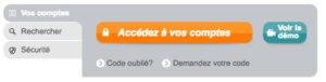 Connexion à mon compte CACE sur www.ca-centrest.fr