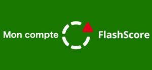 Connexion à mon compte flashscore.fr