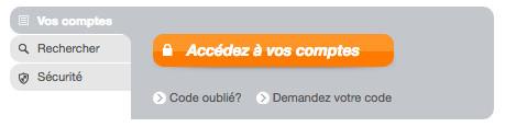 Connexion à mon compte CA Atlantique Vendée en ligne
