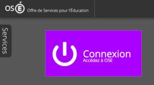 Connexion à OSE sur ent2d.ac-bordeaux.fr