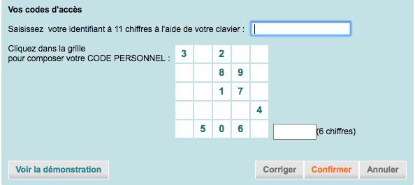 Connexion à www.ca-nord-est.fr