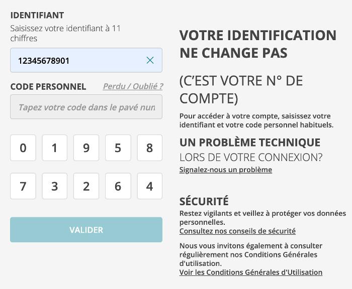 Connexion à mon compte www.ca-centreouest.fr