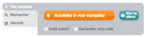 Consultation de mon compte CACMDS en ligne sur www.ca-cmds.fr