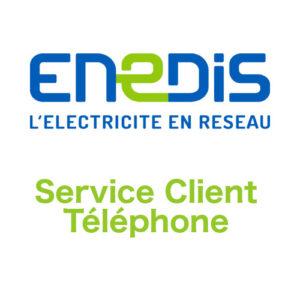 Comment contacter le service client Enedis par téléphone ou email