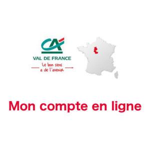 Credit Agricole Val de France Mon compte en ligne sur www.ca-valdefrance.fr