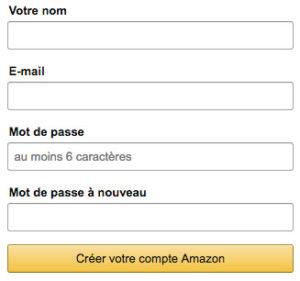 Créer un compte Amazon en ligne : client et vendeur