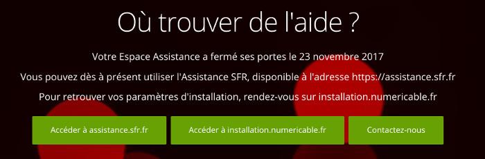 Espace assistance numericable.fr : service client en ligne