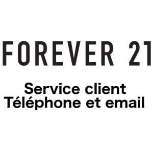 Contacter le service client Forever 21 : numéro de téléphone et email sur www.forever21.com