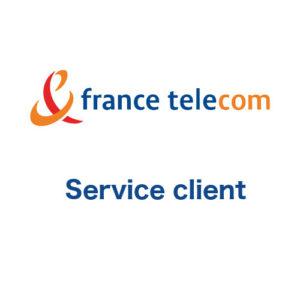 Service client France Télécom : numéro de téléphone à contacter