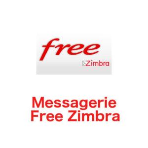 Messagerie Free Zimbra - zimbra.free.fr