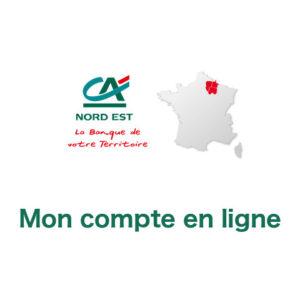 Mon compte Crédit Agricole Nord-Est en ligne sur www.ca-nord-est.fr