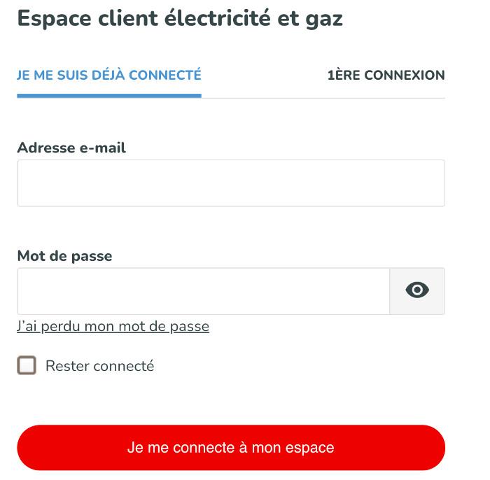 Mon compte Direct Energie particulier (client Total Energies)