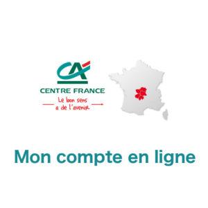Mon compte en ligne CACF sur www.ca-centrefrance.fr