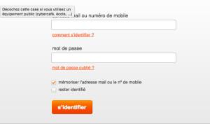 Accès à mon compte et service client www.orange.fr