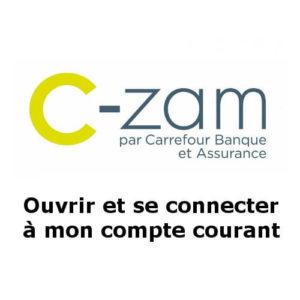 Ouvrir et accéder à mon compte C-zam Carrefour Banque