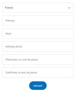 Ouvrir un compte Paypal gratuit