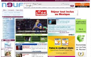 Portal Neuf sur neufportail.fr