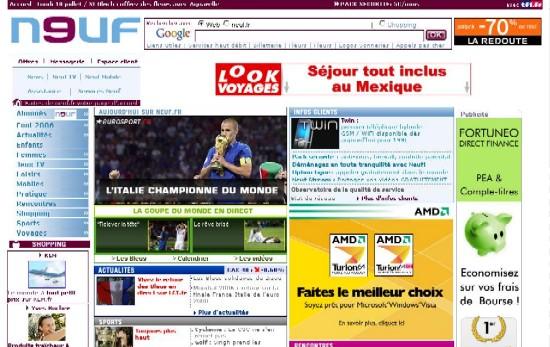 Portal Neuf sur neufportail.fr