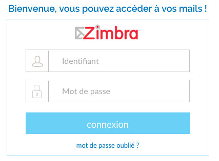 Se connecter à la messagerie Free Zimbra