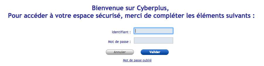 Se connecter à mon compte Cyberplus BPALC sur www.bpalc.banquepopulaire.fr