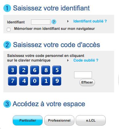 Se connecter à mon compte en ligne LCL Particuliers - www.lcl.fr