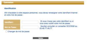 Se connecter à mon compte SOCRAM Banque sur www.socrambanque.fr