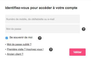 Se connecter à mon compte sur www.mon-compte.bouyguestelecom.fr