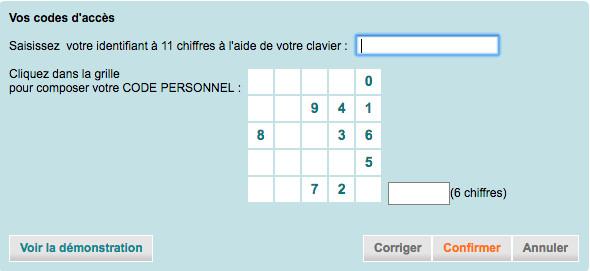 Se connecter à espace client www.ca-cb.fr