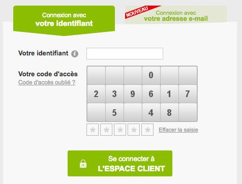 Se connecter à mon espace client Oney sur www.oney.fr